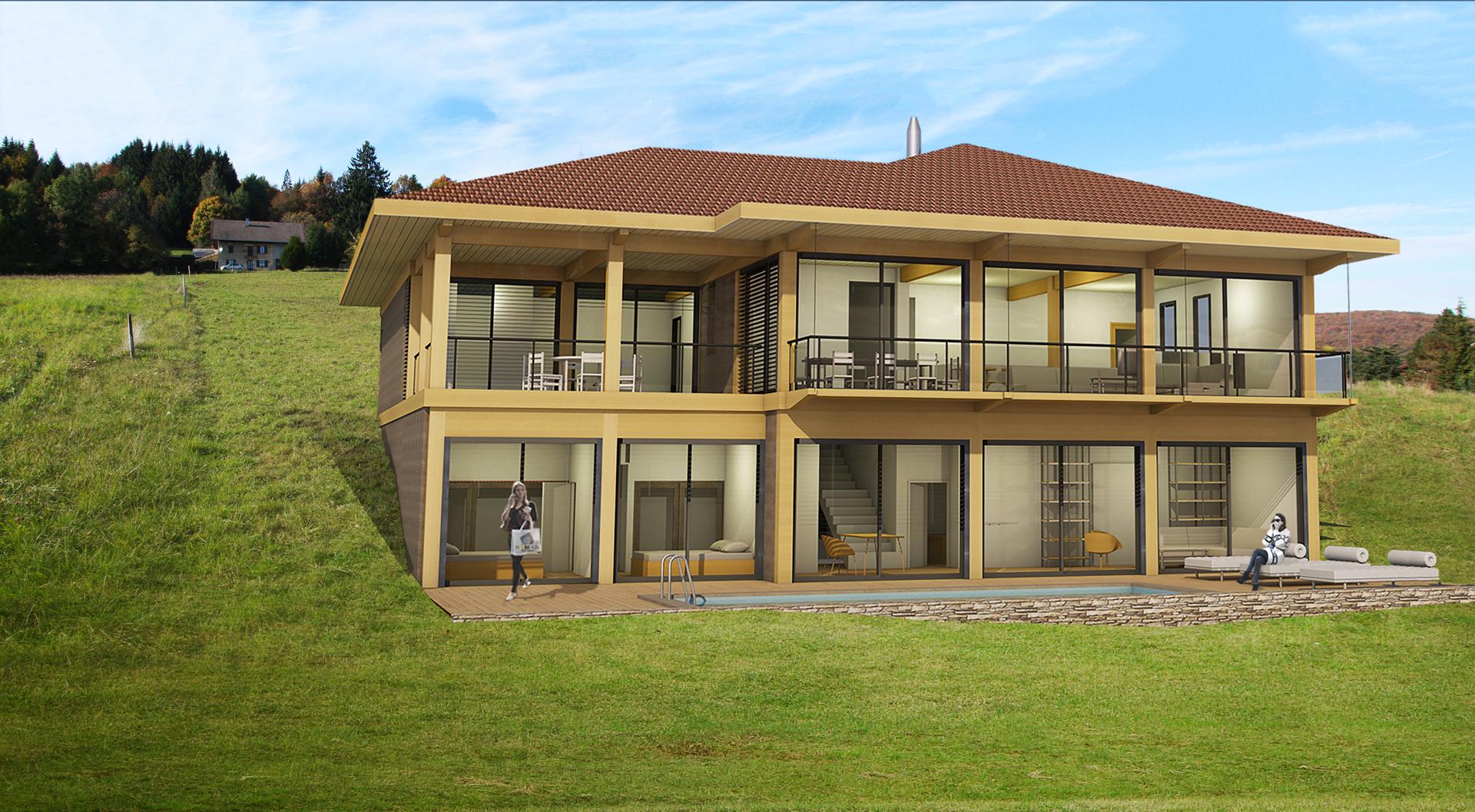 habiter le paysage human architecteshuman architectes. Black Bedroom Furniture Sets. Home Design Ideas