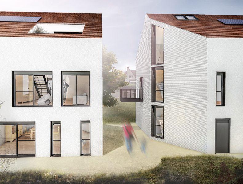 26 logements collectifs et 1 jardin partagé